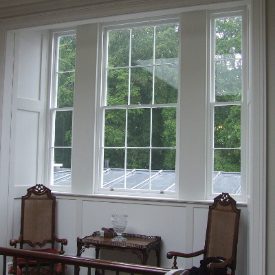 Example of a sash window