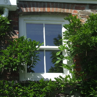 Example of a sash window